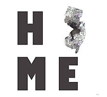 "New Jersey ""HOME"" Photographic Print"