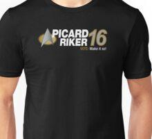 Picard / Riker 2016 Unisex T-Shirt