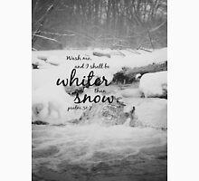 Psalm 51 Whiter than Snow Unisex T-Shirt