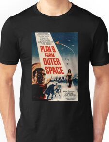 Plan 9 From Outer Space Retro Movie Pop Culture Art Unisex T-Shirt