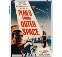 Plan 9 From Outer Space Retro Movie Pop Culture Art iPad Case/Skin