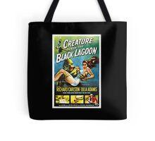 Creature from the Black Lagoon Retro Movie Pop Culture Art Tote Bag