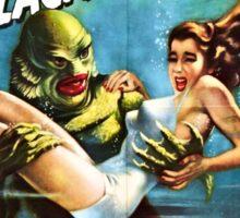Creature from the Black Lagoon Retro Movie Pop Culture Art Sticker