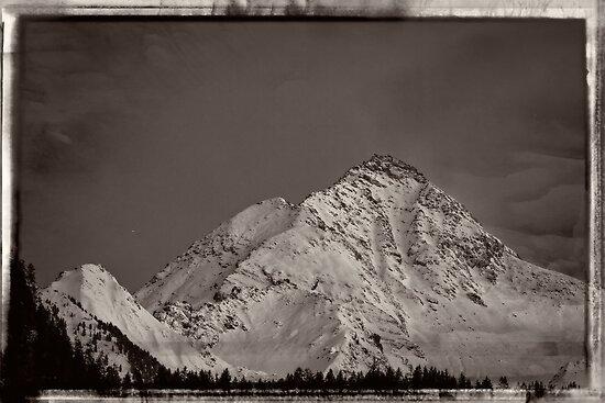 Ahornspitze in Austria by Bernd F. Laeschke