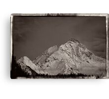 Ahornspitze in Austria Canvas Print