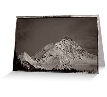 Ahornspitze in Austria Greeting Card