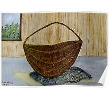 Willow Basket  Poster