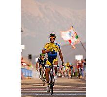Alberto Contador Photographic Print