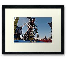 Sir Bradley Wiggins Framed Print