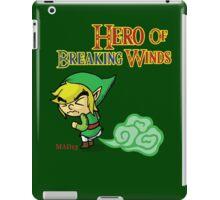Hero of Breaking Winds iPad Case/Skin