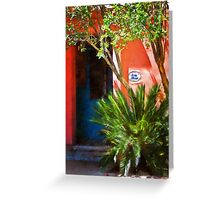 Aros House, Tucson, Arizona Greeting Card