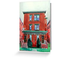 Colt House 50-52 in Hartford, Connecticut Greeting Card