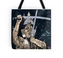 Golden Ninja Warrior Tote Bag