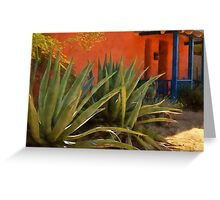 Agaves in the Barrio Greeting Card