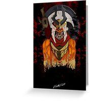 Kuro Shinrin no Shogun-sama Greeting Card