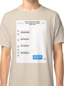 Hamilton Group Text Classic T-Shirt