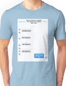 Hamilton Group Text Unisex T-Shirt