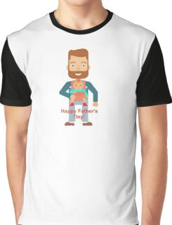 Father's Day - baby wearing  Graphic T-Shirt