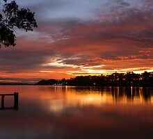 Silky Sunrise by Dave  Hartley