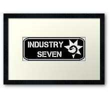 Industry Seven Beanie Patch Framed Print