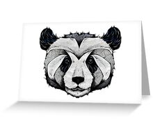 Panda Deep totem Greeting Card