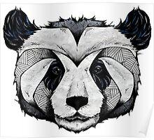 Panda Deep totem Poster