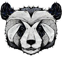 Panda Deep totem Photographic Print