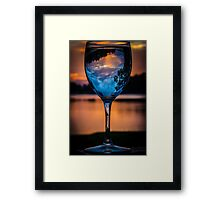 Cheers to the Sun Rise Framed Print
