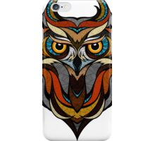 Athene Noctua Deep totem iPhone Case/Skin