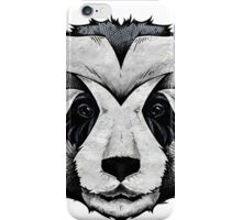 Panda Deep totem iPhone Case/Skin
