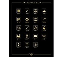 Zelda Through the Ages Photographic Print