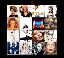 Kylie - The Albums throw pillow / tote bag by markkm08