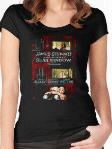 Rear Window Women's Fitted Scoop T-Shirt