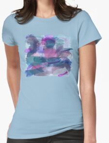 Watercolour Wonderland Womens Fitted T-Shirt