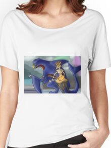 Pokemon Garchomp and Braixen Women's Relaxed Fit T-Shirt