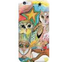 Owls and Stars iPhone Case/Skin