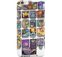 Super Effective II - White iPhone Case/Skin