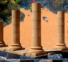 The Elemental Tourist - Water Sticker