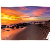 Sunset at Casperson Beach Poster
