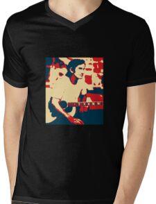 Townes Van Zandt Mens V-Neck T-Shirt