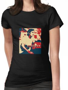 Townes Van Zandt Womens Fitted T-Shirt