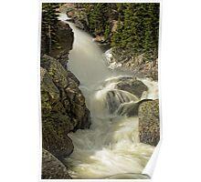 Alberta Falls RMNP Poster