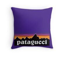 patagucci sunrise Throw Pillow