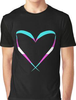 Trans Heart Graphic T-Shirt