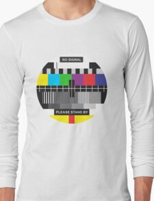 TV No Signal Long Sleeve T-Shirt