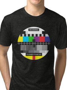 TV No Signal Tri-blend T-Shirt