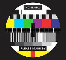 TV No Signal by prettycritters