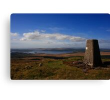 Crockkinnagoe Hill Canvas Print