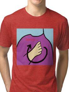 ASL Sorry! Tri-blend T-Shirt