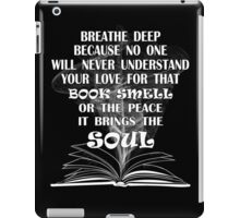 BOOK SMELL iPad Case/Skin
